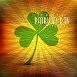 Abstract illustration of st.Patrick Day in old grunge background