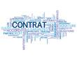 "Nuage de Tags ""CONTRAT"" (accord signature travail vente légal)"