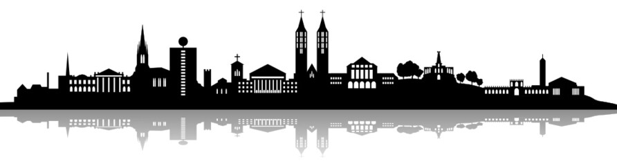 Skyline Kassel Schatten