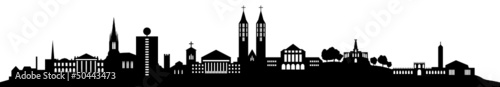 Kassel Skyline detailliert