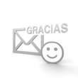 gracias, spanisch, danke, mail,