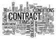 """CONTRACT"" Tag Cloud (agreement signature legal law business)"