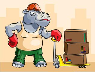 Hippopotamus - loader
