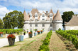 Monbazillac Castle with vineyard, Aquitaine, France