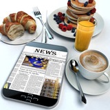 Breakfast and news