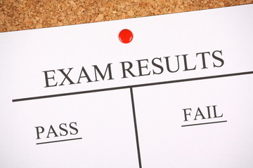 Exam Results Bulletin Board