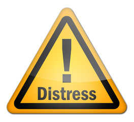 "Hazard Sign ""Distress"""
