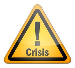 "Hazard Sign ""Crisis"""