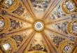 Madrid - cupola in Basilica de San Francisco el Grande