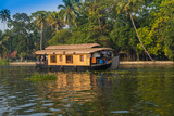 houseboat in kerala backwaters, india