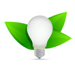 green eco energy concept. Idea growing