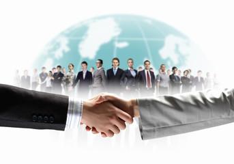 image of business handshake