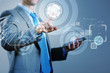 Imafe of finger touch