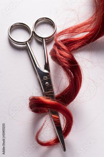 canvas print picture Haarpflege