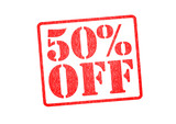50% OFF Rubber Stamp