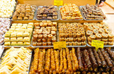 Turkish Sweets from Spice Bazaar, Istanbul