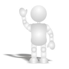 3d - people - hi man (no face)