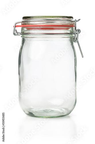 leeres Einmachglas
