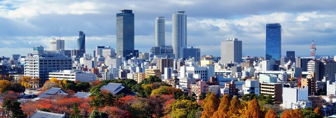 Nagoya, Japan Panorama