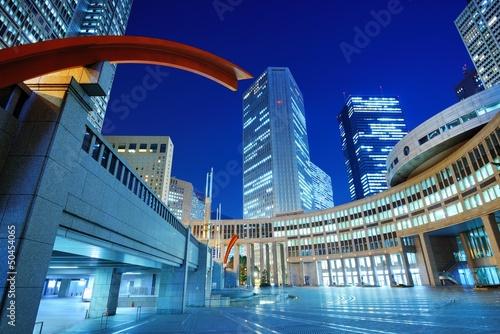 Tokyo Shinjuku Cityscape at Tocho-mae