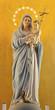 Verona - Statue of Modonna with the child in San Bernardino
