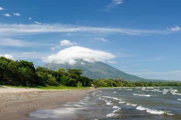 Nicaragua, landscapes on an Ometepe island