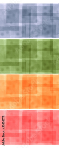 Abstract background - four colors
