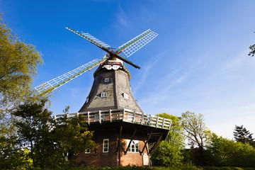 WIndmühlen in Wyk auf Föhr