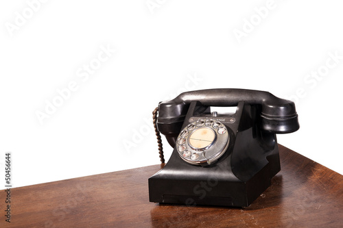 GPO 332 vintage telephone - isolated on white