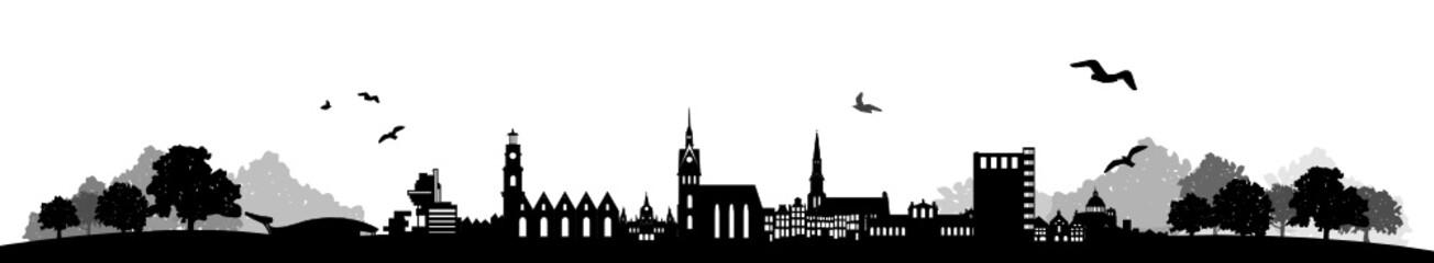 Skyline Hannover Landschaft