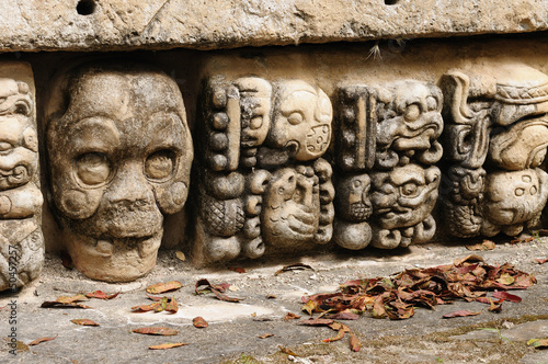 Copan Mayan ruins in Honduras - 50457257