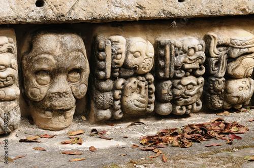 Fotobehang Centraal-Amerika Landen Copan Mayan ruins in Honduras