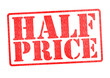HALF PRICE Rubber Stamp