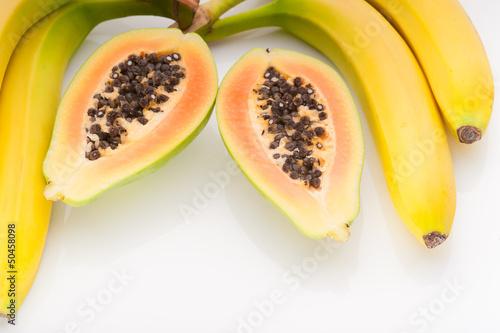 papaya mit banane 2