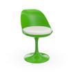 Futuristischer Stuhl - Grün Weiß