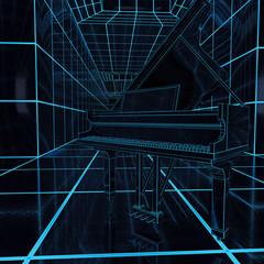 Klavierflügel - 3D Render