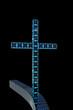 Modernes Kreuz - 3D Render