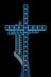 Moderne Kreuze - 3D Render