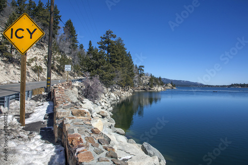 Big Bear Lake in Kalifornien
