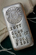 Old Collectible Silver Bar from the Homestake Mining Company