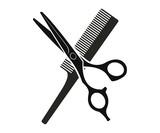 Fototapety Comb and scissors
