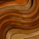 Abstract wood twisted background.    EPS8