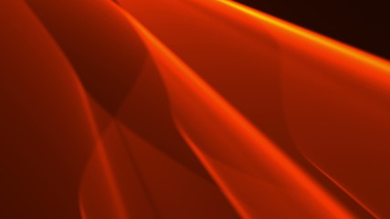 Flowing orange background