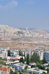 Palestin. The city of Bethlehem