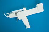 mesotherapy gun electronic with syringe poster