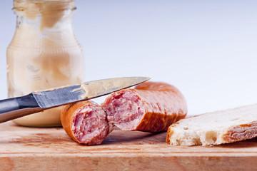 Traditional pork sausage