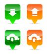 Download and upload web design elements