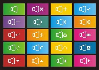 sound icons - metro style