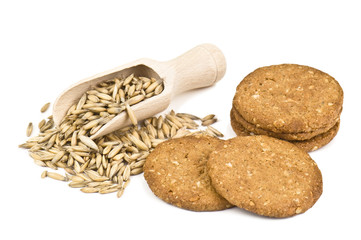 oat and cookies