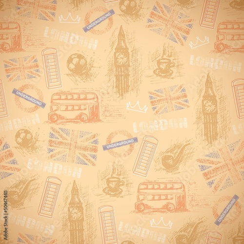 english vintage background